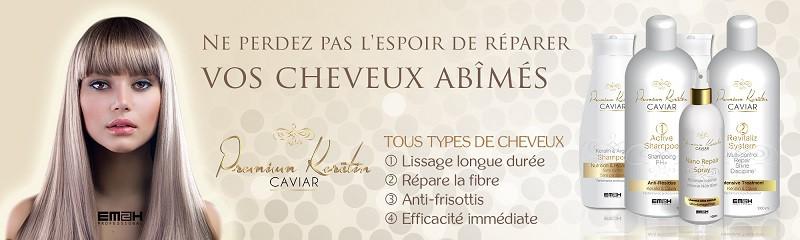 Premium keratin caviar